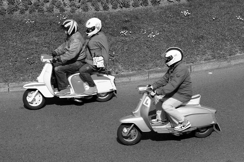 Scooters, Roundabout, Cosham