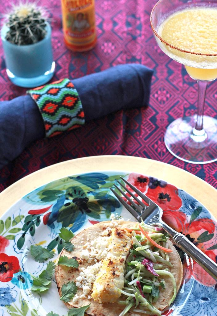 fish tacos & mango margaritas