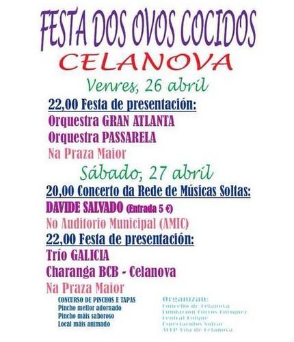 Celanova 2013 - Festa dos ovos cocidos - programa