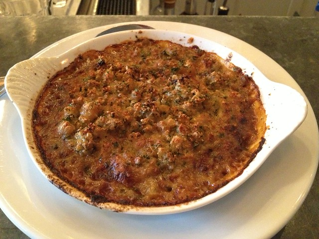 Braised goat gratin - The Walrus and the Carpenter