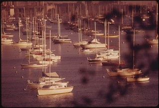 Marina In Lake Michigan Adjacent To Downtown Chicago. The City Has Provided A Climate For Developing Black Resources And Is Considered The Black Business Capital Of The United States, 10/1973