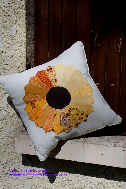 Dresden Sunflower Cushion