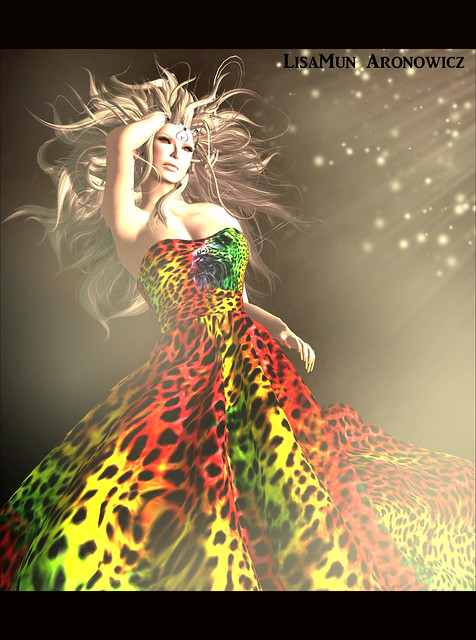 Tiger Gown and Sunburst Fantasy