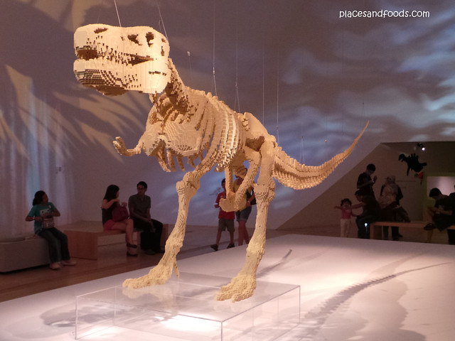 art science museum t-rex