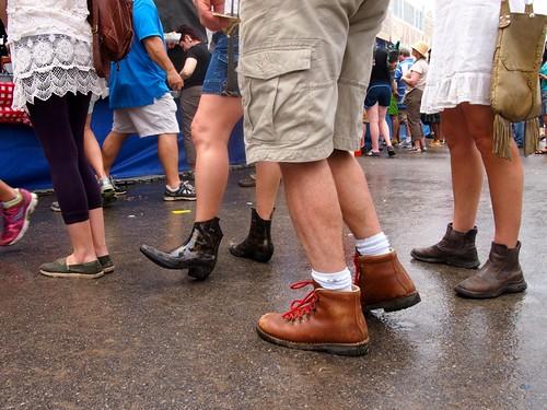 Footwear at Jazz Fest 2013