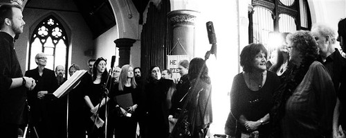 Radio Massacre International, OUA, Juxtavoices @ St Clements, Manchester 20.4.13
