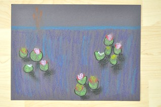 Water Lillies Pastel
