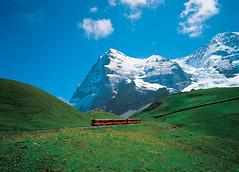 Cestování Švýcarskem– Jungfraubahn
