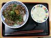 Photo:#8704 grilled beef tongue over rice By Nemo's great uncle