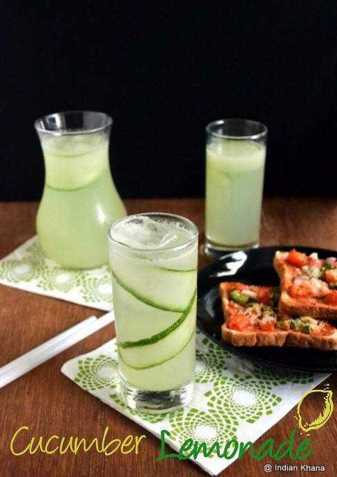 325f7ed453f Cucumber Lemonade Summer Drinks Recipes