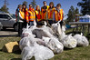 A team from Industrial Hygiene and Safety during the Great Garbage Grab