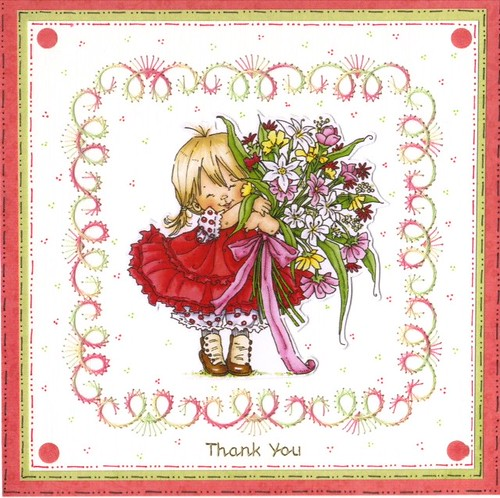 Thank you card from Solihull Craft Group.