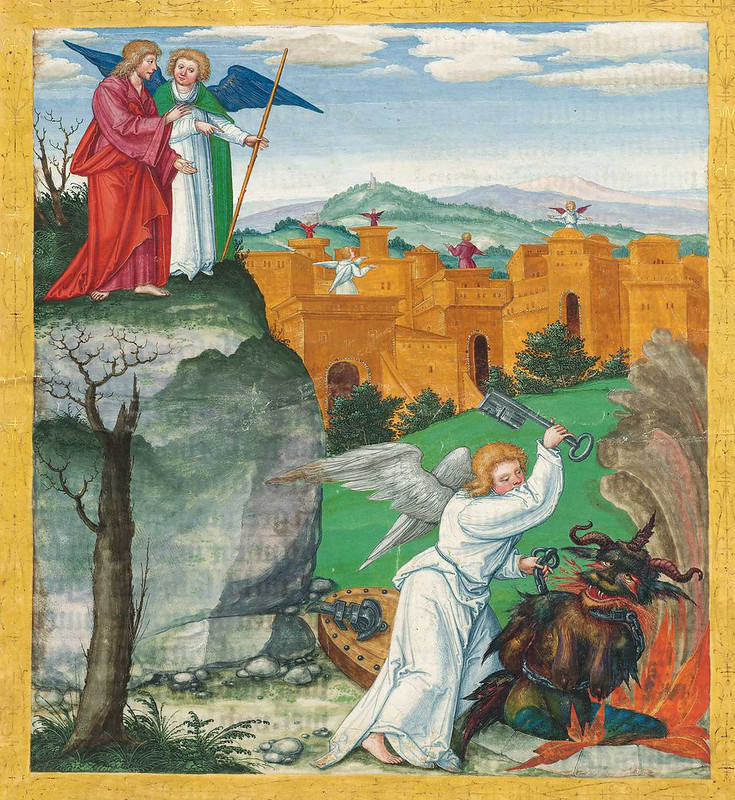 Ottheinrich Bible Painting - 6 (15th-16th century, Bavaria)