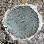 North Moat USGS marker