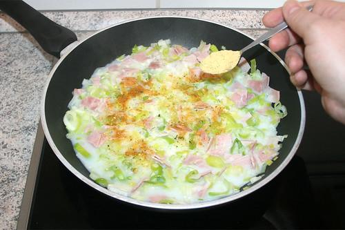 19 - Gemüsebrühe einrühren / Stir in vegetable stock