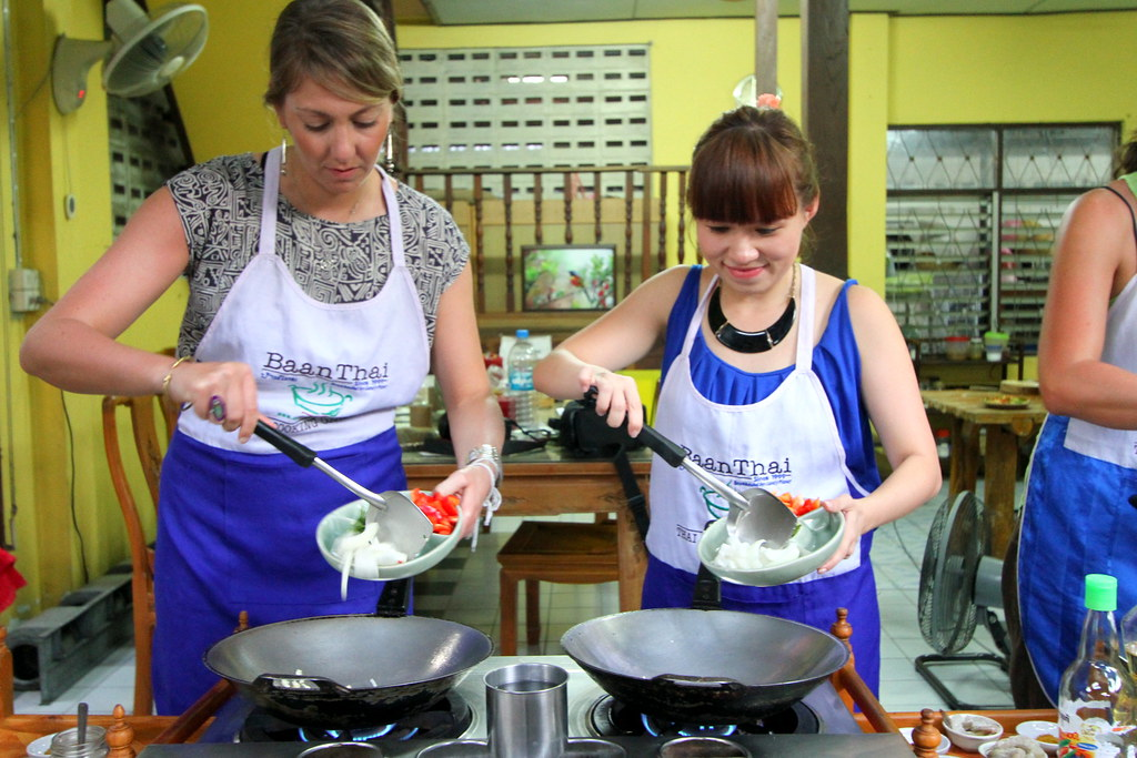 Chiang Mai: Cooking in the process