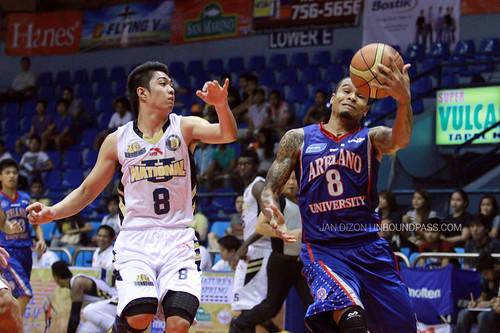 FilOil 2013: NU Bulldogs vs. Arellano Chiefs, May 11