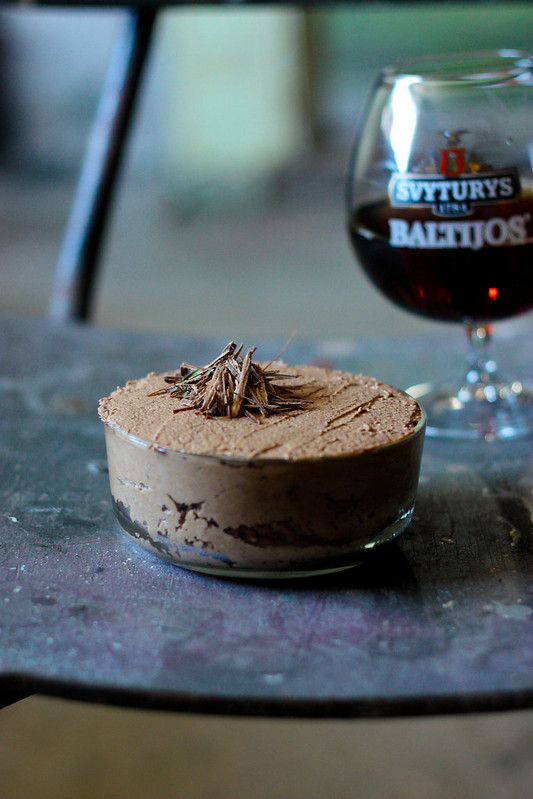 Chocolate Dark Beer Mousse