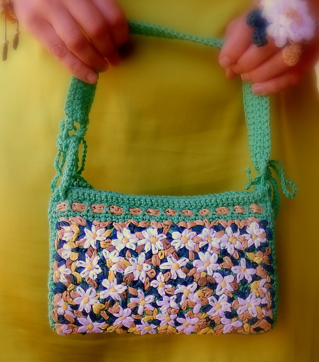 "Bolso"" Forget me not"""