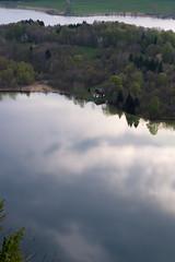 Terasse avec belle vue sur le lac!