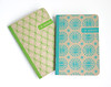silkscreened pocket notebooks - kraft