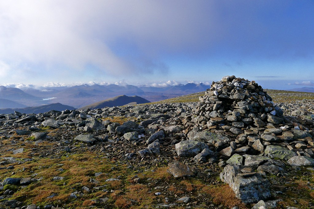Summit of Beinn Dearg