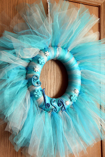 Elsa-Tulle-Wreath