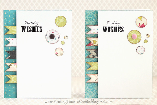 Birthday wishes card set by Kelly Wayment