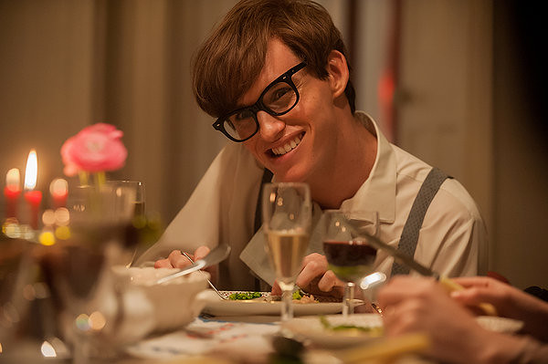 Eddie Redmayne is one of the few good things about THE THEORY OF EVERYTHING.