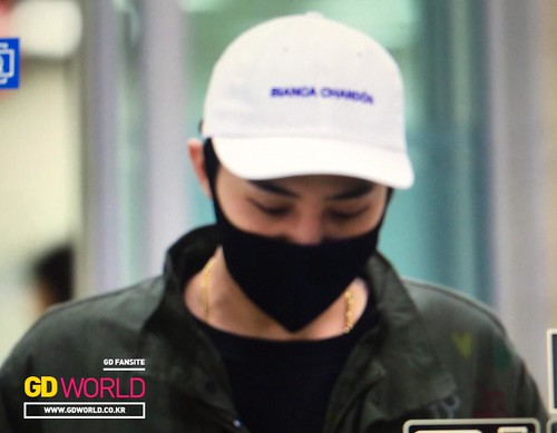 G-Dragon - Gimpo Airport - 02mar2015 - GD World - 01