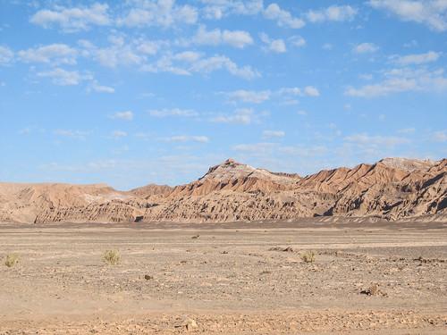 Le désert d'Atacama: en route vers la Valle de la Luna