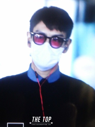 Big Bang - Incheon Airport - 07dec2015 - The TOP - 01