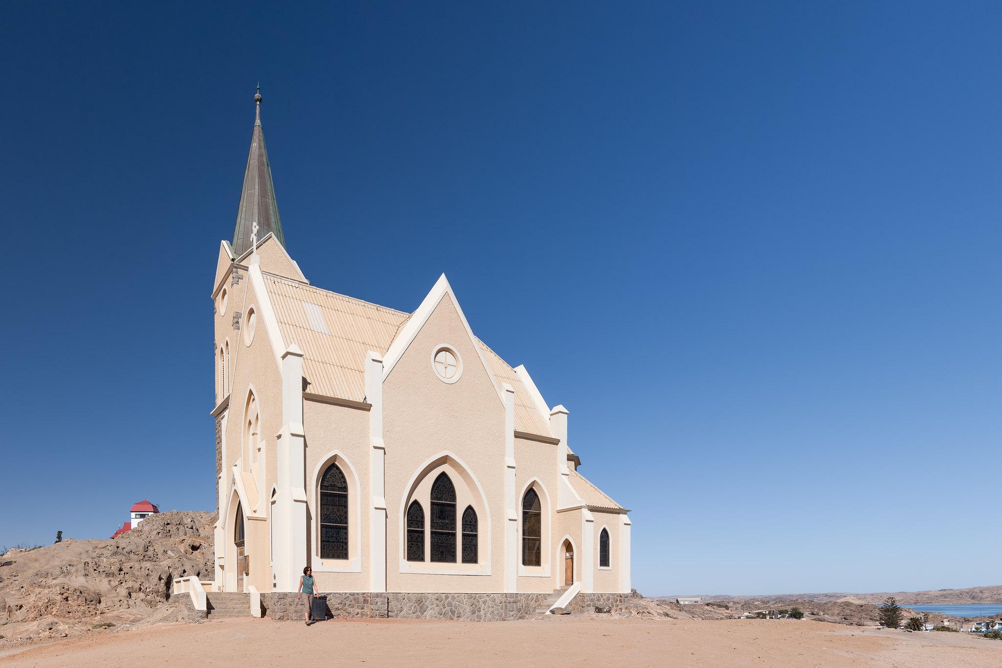 Felsenkirche in Lüderitz
