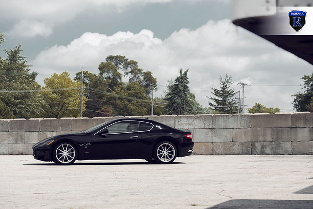 Maserati Gran Turismo - RF1 Brushed Titanium