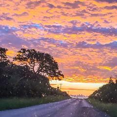 A beautiful Texas sunrise. #nature #texassunrise #hillcountrytexas