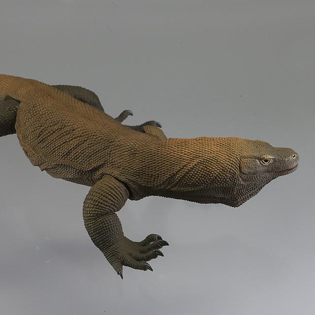 世上最大隻的蜥蜴! 海洋堂 Sofubi Toy Box005 科摩多巨蜥 コモドオオトカゲ