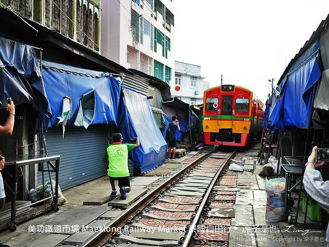 美功鐵道市場 Maeklong Railway Market 泰國自由行 18