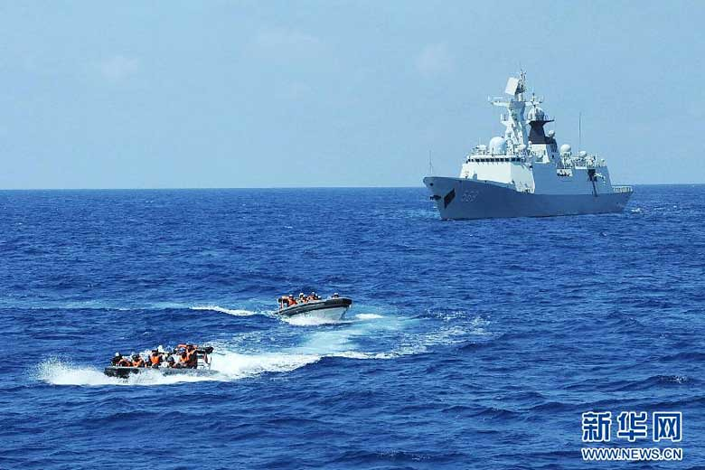 Chinese Fleet Continues Drills in South China Sea-March-28-2013