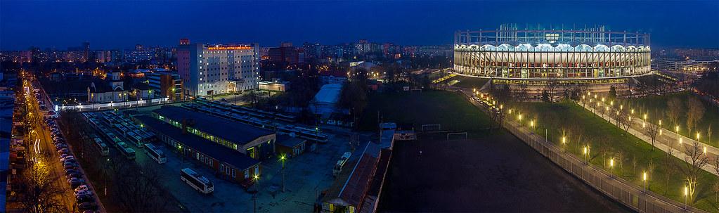 Estadio Nacional Arena Națională Rumania Bucarest Romania
