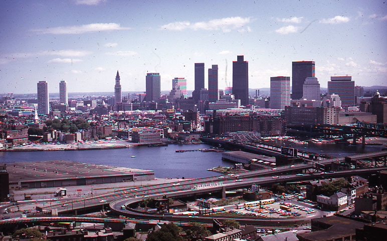 Boston Skyline, from Bunker Hill Monument