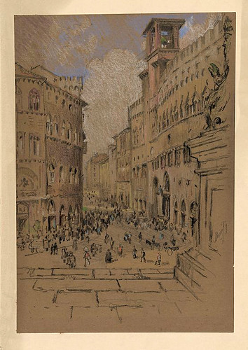 005-Perugia-1901-1908- Joseph Pennell-Library of Congress