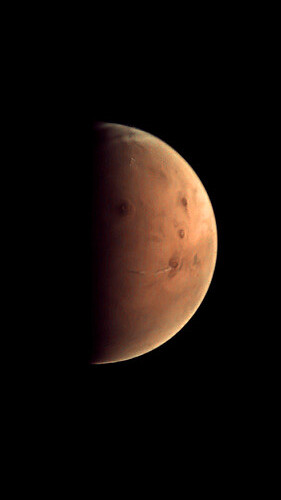 Marte - Arsia Mons ESA Mars Express 2012