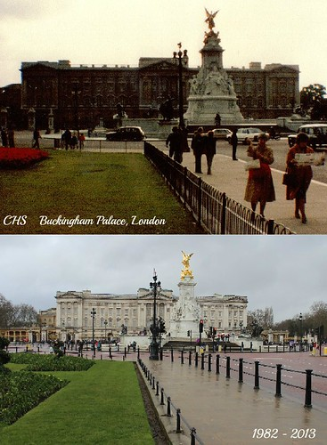 Years Apart - 1982-2013, Buckingham Palace, London by Stocker Images
