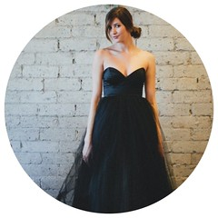 Black Floor Length Strapless