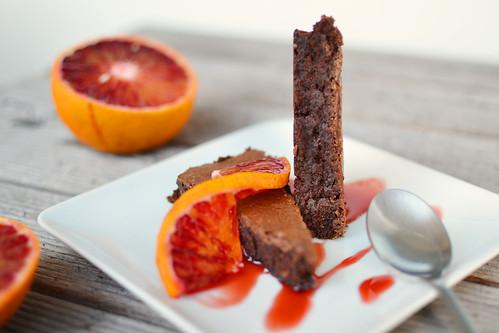 tarta de ciocolata si migdale