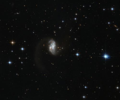 Galactic glow worm