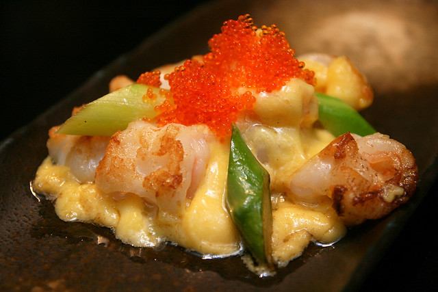 Teppanyaki Prawn with Golden Sauce