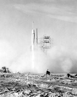 First missile launch: Cape Canaveral, Florida