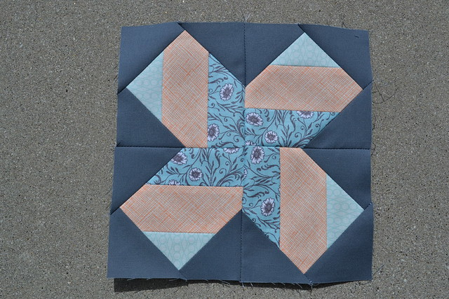 Virtual Quilting Bee Block Two