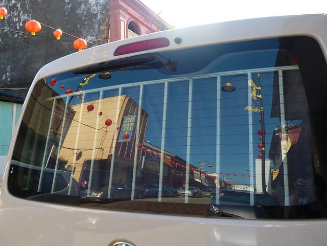 Reflection of Kuala Terengganu Chinatown